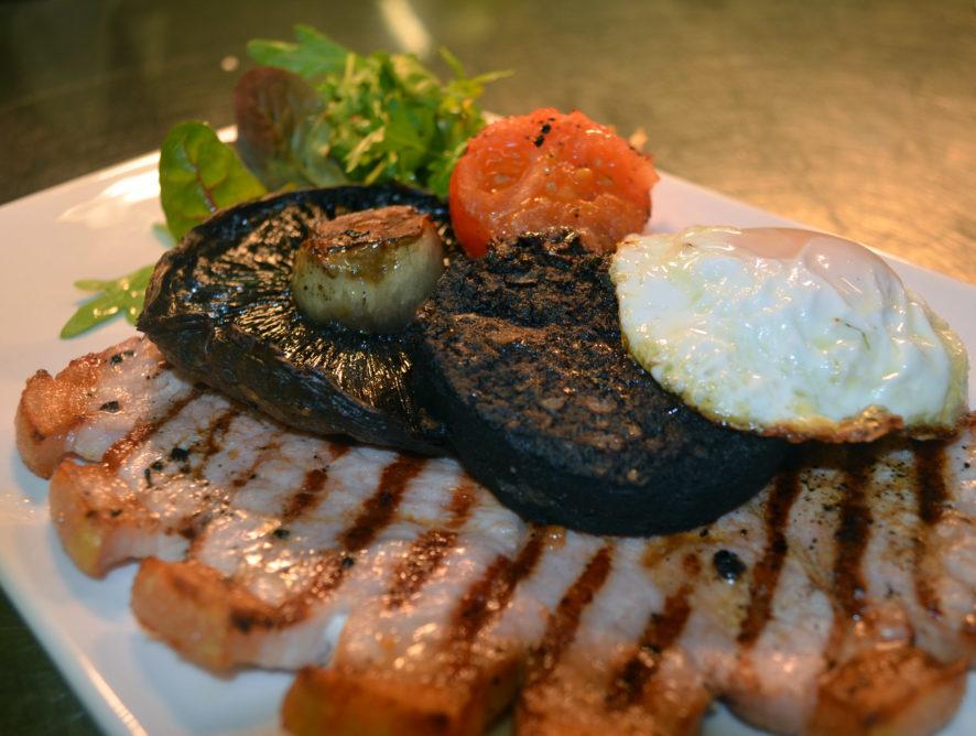 12oz Gammon Steak (GF*)